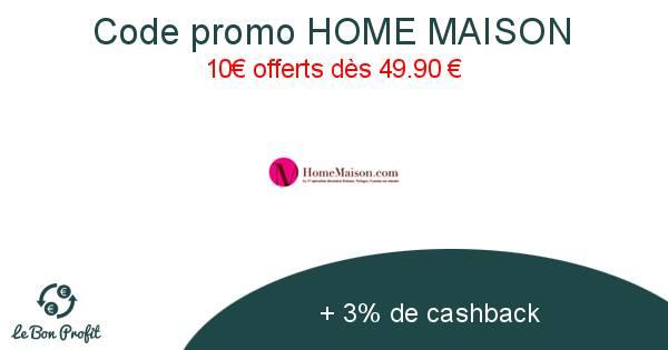 Code Promo Home Maison
