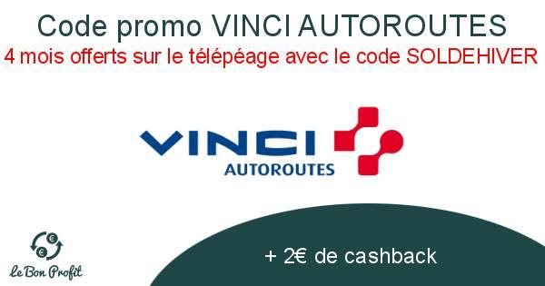 Code promo VINCI AUTOROUTES