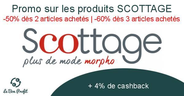 Promo sur les produits SCOTTAGE
